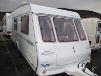 Compass 4 berth family caravan comes all ready to use