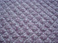 Laura Ashley quilted sewing fabric (reversible)