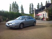 Alfa Romeo 156 2.4JTD 2002 £299 ONO