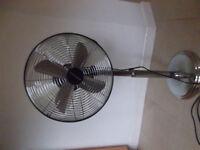 Bionaire electric fan, floor standing