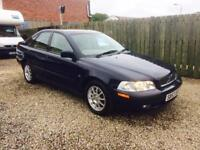 Volvo s40 s 1.6 53 Reg 34,000 miles wow 1 year mot excellent condition full leather outstanding