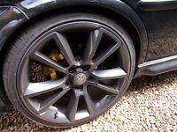 vauxhall vxr 19 alloy wheels and newish tyres gsi vectra astra zafira