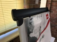 Nobo desktop flipchart with Carrycase. Unpacked from shipping box but completely unused.