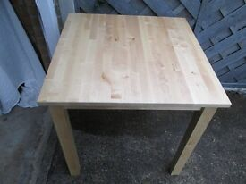 IKEA TABLE PLUS 4 STURDY DINING CHAIRS