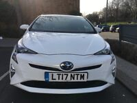 FIRST WEEK FREE-----PCO HIRE UBER READY 2017 PRIUS NEW SHAPE £240 per week intcluding insurance