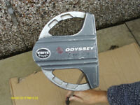 ODYSSEY 2 BALL SRT WHITE STEEL PUTTER