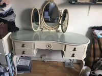 lovely Chest of drawers with mirror £50