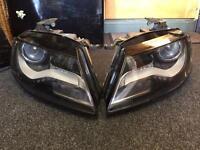 Genuine Audi a4 b8 xenon led s-line headlights 08-13