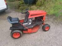 Westwood gazelle ride on mower tractor lawnmower go kart lawnmower racing