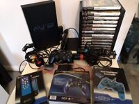 PS2, Sony Playstation 2 bundle, IN EXCELLENT CONDITION. Console + 13 games & loads of accessories