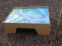 Children's Train Storage Table