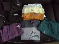 T-shirts (part 4): Assorted men's round neck t-shirts (8), XL.