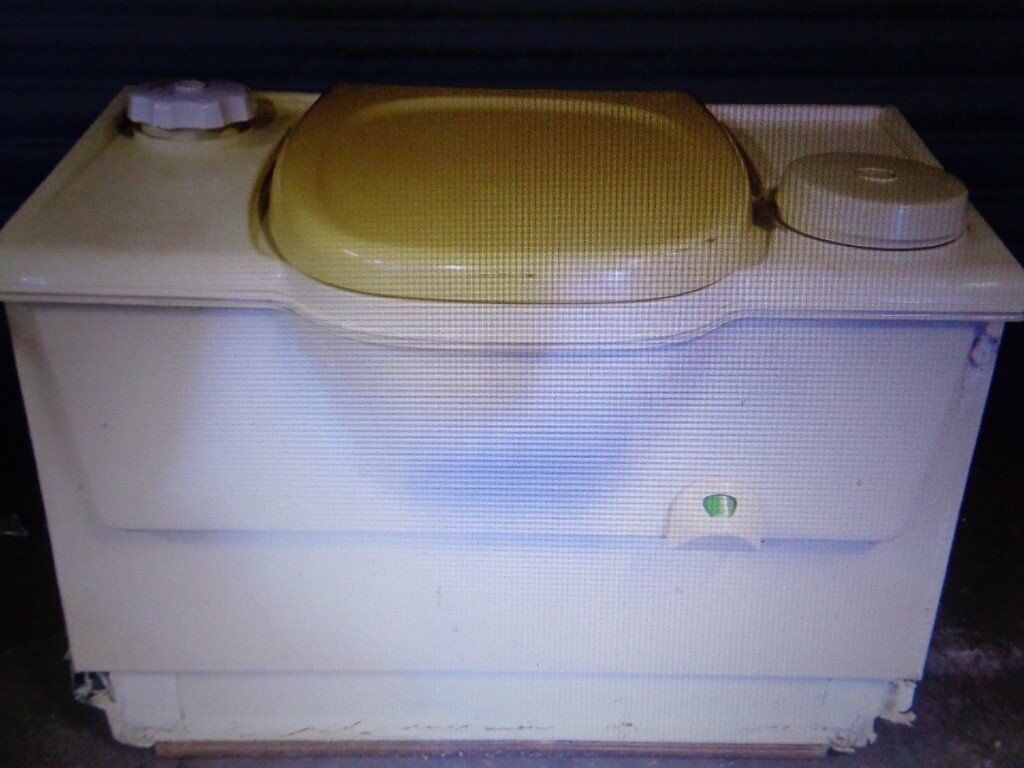 Thetford Cassette Toilet : Motorhome caravan thetford cassette toilet flush holiday touring