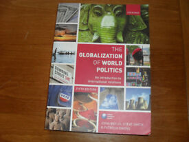 The Globalization of World Politics Book University Reading Plus Others