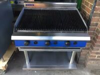 CATERING COMMERCIAL BBQ FLAME GRILL KEBAB CHICKEN FAST FOOD TAKE AWAY SHOP RESTAURANT KITCHEN