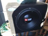 JBL 1000 watt subwoofer