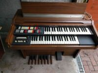 Hammond Organs.
