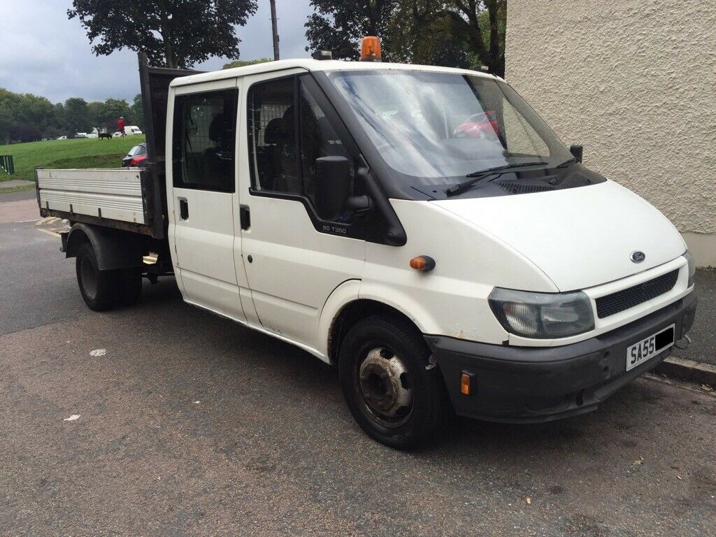 ford transit t350 tipper 2005 55 reg in croydon london. Black Bedroom Furniture Sets. Home Design Ideas