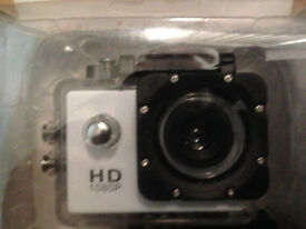 BRAND NEW BOXED AND SEALED =FULL HD 1080P ACTION CAMERA