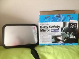 Large Baby Safety Mirror BNIB