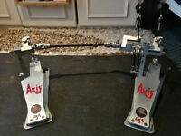 AXIS DOUBLE KICK PEDALS *Mint Condition* £420 or best offer