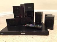 Blue ray DVD player with surround sound