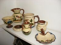 Torquay pottery collection