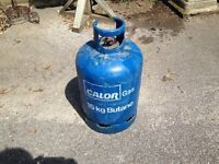 15KG Calor Gas Container appear about half full