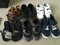 Bundle of baby boy trainers/ shoes. 6x pairs in total £20 Nike, Puma, H&M etc..