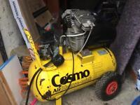 Cosmo Air Compressor. open to offers! Only used once
