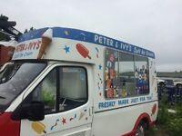 Ice cream van Carpigiani