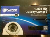 SWANN 1080p HD Security Dome Camera - Brand New - network connection with power over the ethernet