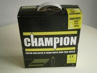 Champion Nails for Nail Gun - 51 x 2.8mm Electro Galvanised Ann Ring - part pk 3 fuel and 2775 nails