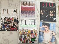 Elle magazine. 5 issues. Various dates.