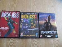 30 x DVD'S for sale - Rom Com, Thriller, Drama & Children's