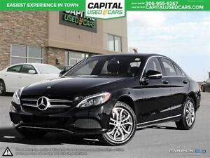 2015 Mercedes-Benz C-Class *Panoramic Sunroof *Leather *AWD