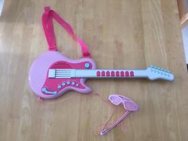 ELC Pink Guitar