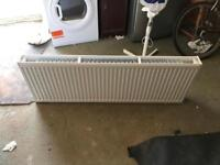 Central heating large double rad brand new 1400x500