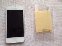 iphone 5, 16gb, unlocked, godd working & cosmetic,