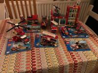 City fire lego