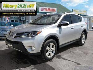 2013 Toyota RAV4 XLE. *SUNROOF. BACK UP CAM. TINTED WINDOWS.