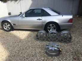 Mercedes Benz Alloy Wheels