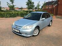 2006/06 HONDA CIVIC 1.3 IMA HYBRID 1 F KEEPER LEATHER SEATS