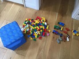 Lego duplo with storage box