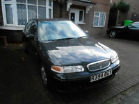 Rover 416 1997 Hatchback genuine low mileage 28567 good condition 5 speed manual motd October