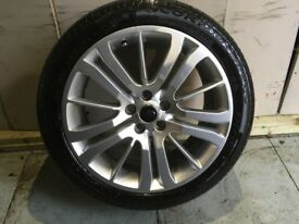 ALLOYS X 4 OF 20 INCH GENUINE RANGEROVER SPORT IN EXCELLENT UNMARKED CONDITION WITH PIRELLI TYRES