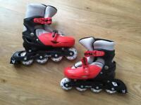 Kid's inline skates - size 2-4