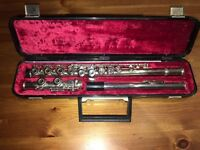Silver Evette flute in very good condition