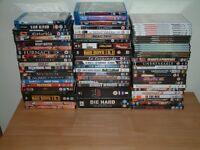 Job Lot of DVD's and Blu-rays.
