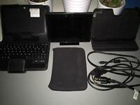 32GB BlackBerry Playbook with accessories